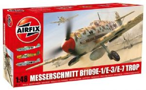 AX05122 Messerschmitt Bf 109E Tropical version
